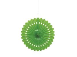 Honeycomb Waaier Groen - 40cm
