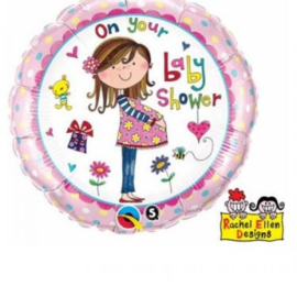 Folieballon On Your Baby Shower - 45 cm