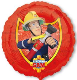 Folieballon Brandweerman Sam - 45 cm
