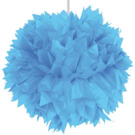 Pompom lichtblauw - 30 cm
