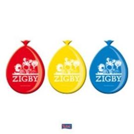Zigby Ballonnen -8 stuks