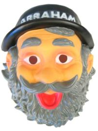 Masker met hoed abraham plastic