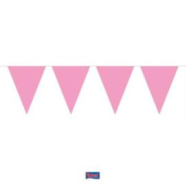 Mini Roze Vlaggenlijn - 3 meter