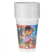 Dora bekers 10 stuks