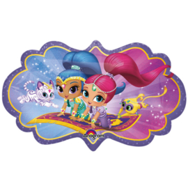 Folieballon SuperShape  Shimmer & Shine - 68 cm