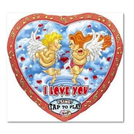 Folieballon I Love You Hart Singing Balloon - 71 cm