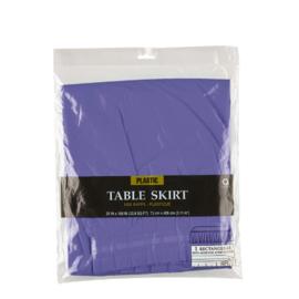 Bankettafel rok pastel paars 426 x73cm