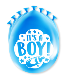 Party Ballonnen - Geboorte jongen