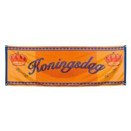 Banner 'Koningsdag' (74x220cm)