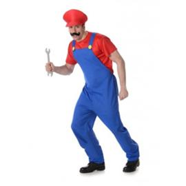 Heren Mario Kostuum