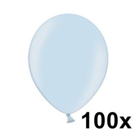 Metallic Licht Blauw 100 Stuks