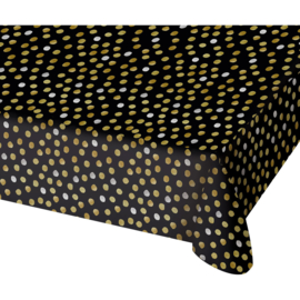 Tafelkleed Glossy Black - 130x180cm