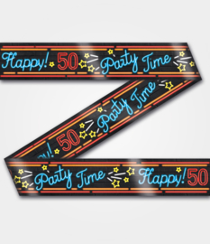Neon party tape - 50 - 12 meter