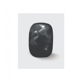 Polyband zwart (5mmx20m)
