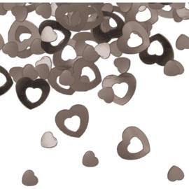 Sierconfetti Zilveren Hartjes