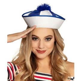 Pet Marine blauw/wit