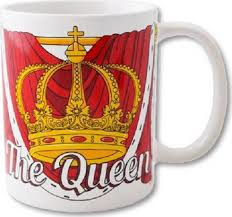 Funny Mug The Queen
