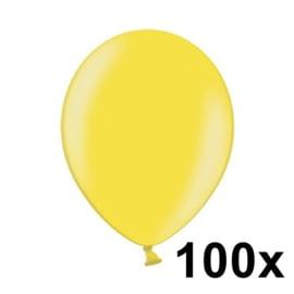 Metallic Citrus Geel 100 Stuks