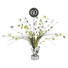 Glitterfeest 60 Jaar Tafeldecoratie - 46cm