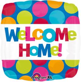 Folieballon Welcome Home - 43 cm