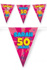 Vlaggenlijn Sarah Cartoon - 10 meter