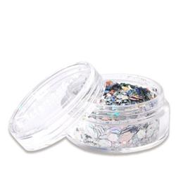 Chunky glitter Laser Silver (8ml)