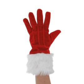 Handschoenen Rood Kerst