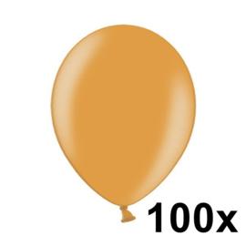 Metallic Helder Oranje 100 Stuks