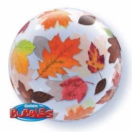 Folieballon Bubble Herfst - 56 cm