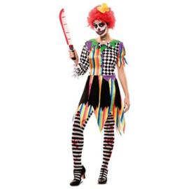 Sinistere clownsjurk