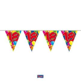 Vlaggenlijn Balloons 18 jaar