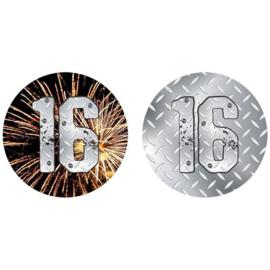 Onderzetter finally 16 (10st)