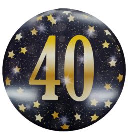 Huldeschild Gold Party  40 Jaar