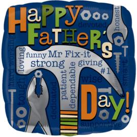 Folieballon 'Happy Father's Day!' - 45 cm