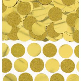 Confetti Cirkels Groot Goud - 63 gram