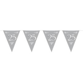25 Jaar Zilveren Vlaggenlijn - 10 meter