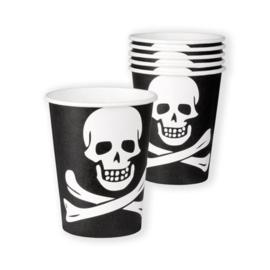 Bekertjes piraat (25cl, 6st)
