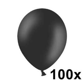Pastel Zwart 100 Stuks