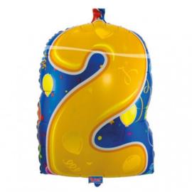 Cijfer 2 junior shape