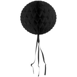 Honeycomb Bol Zwart - 30 cm