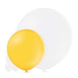 Pastel Helder Geel 60 cm