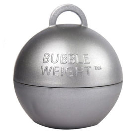 Ballongewicht bubble zilver (35gr)