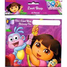 Uitdeelzakjes Dora 8 Stuks