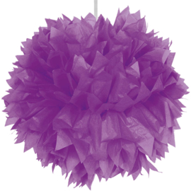 Pompom paars 30cm