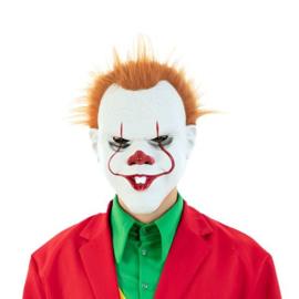 Masker duivelse clown (plastic)
