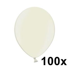Metallic Ivoor 100 Stuks