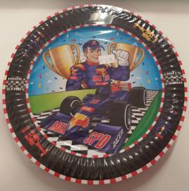 Formule 1 Borden 23 cm - 8 stuks