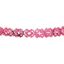 Papieren Slinger hoku-roze - 6 meter