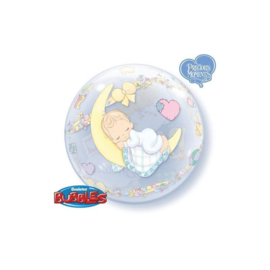 Folieballon Bubble Baby Shower - 56 cm