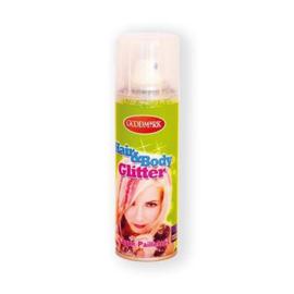 Haarspray glitter zilver (125ml)
